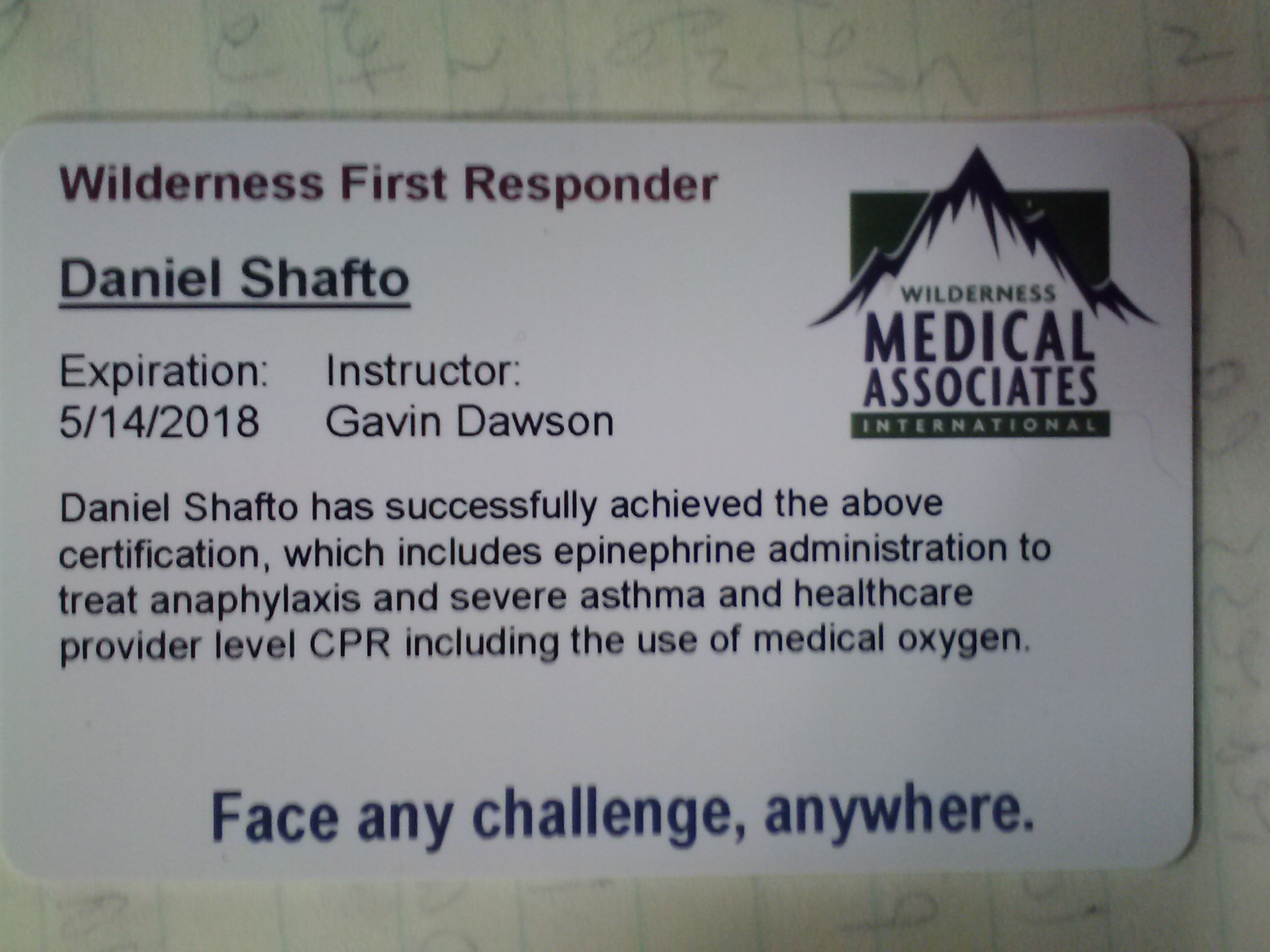 Fitpacking guide dan shafto dan lives in marshfield ma and and is a wilderness medical associates certified wilderness first responder and an american red cross cpraed xflitez Image collections