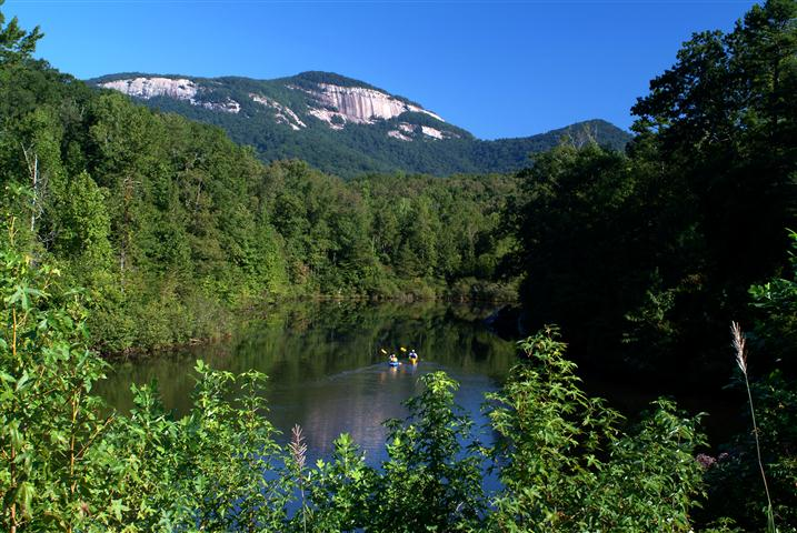 Foothills trail fitpacking trip 2015 for Table rock nc cabins