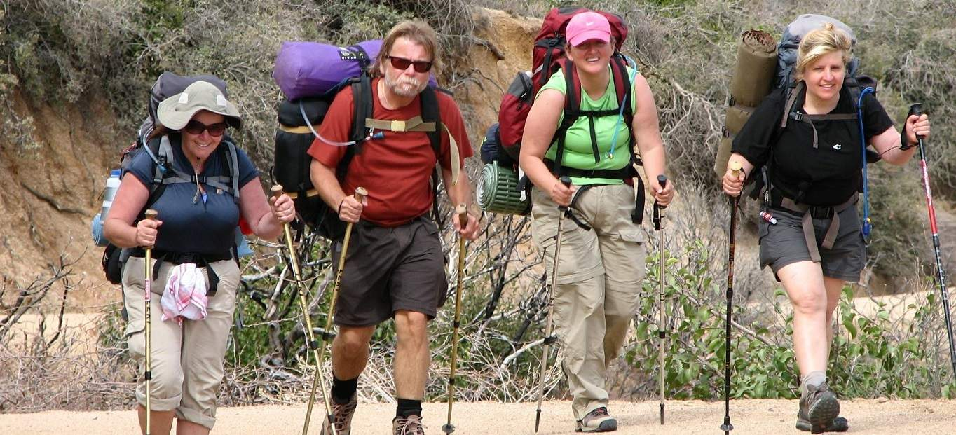 Fitpackers in Superstition Wilderness, AZ